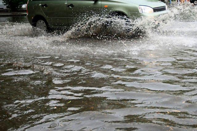 На трассах Ставрополья введены ограничения из-за подтоплений