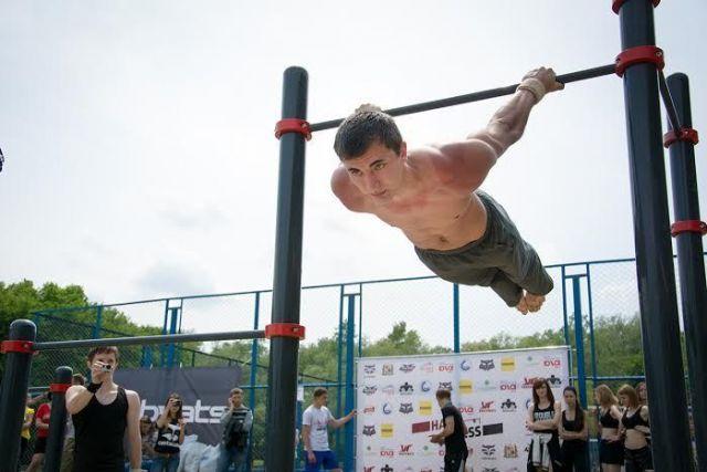 Ставрополец занял первое место на Всероссийском фестивале воркаута