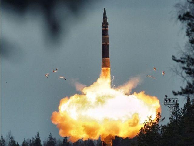 Напугавшее ставропольцев «НЛО» оказалось межконтинентальной ракетой