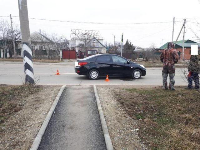 На Ставрополье 82-летний водитель легковушки сбил школьницу