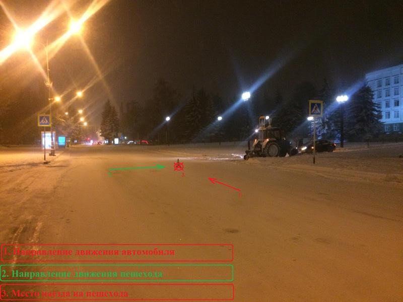 ВКисловодске шофёр сбил назебре ребенка и исчез сместа ДТП