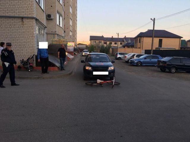 Таксист в Ставрополе сбил ребёнка на велосипеде