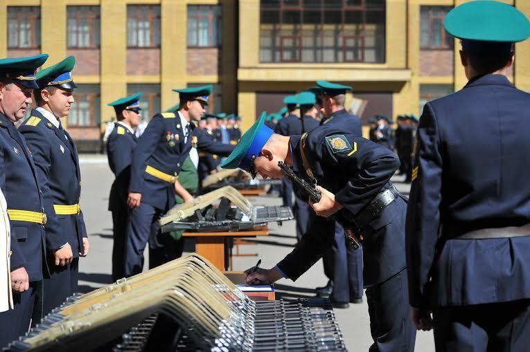 Ставропольские курсанты-пограничники приняли присягу