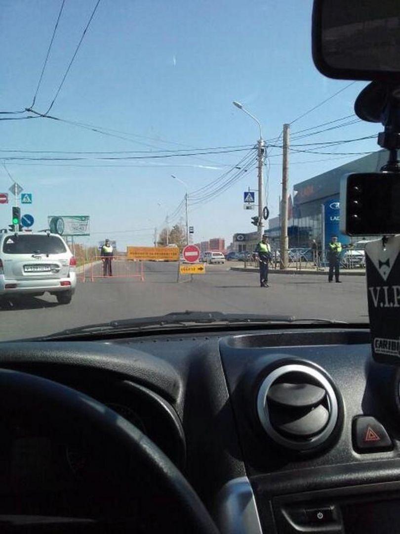 Транспортный коллапс образовался в Ставрополе из-за перекрытых дорог