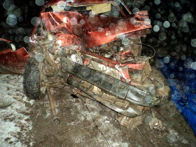 В Степновском районе молодой водитель погиб в ДТП