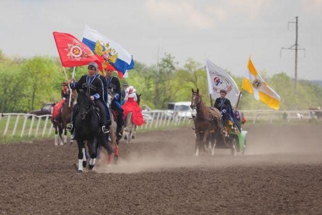 Губернатор Владимир Владимиров принял участие в скачках