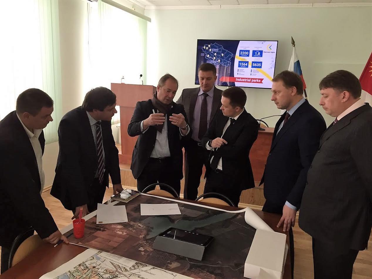 НаСтаврополье обсудили реализацию инвестпроекта построительству кукурузокалибровочного завода