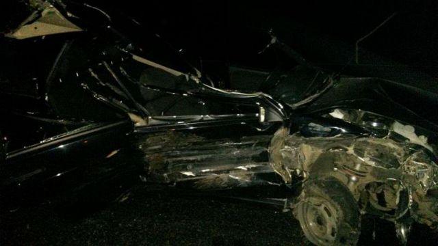 На Ставрополье легковушка врезалась в грузовик, есть пострадавшие