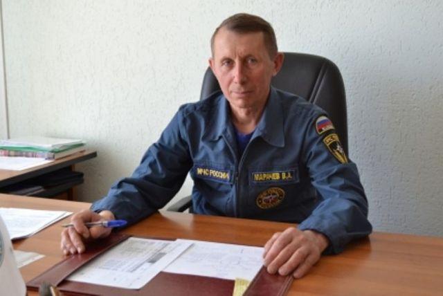 Ставропольского спасателя указом президента удостоили почётного звания