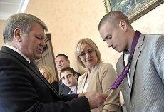 Ставрпопольские «олимпийцы» получили денежные премии от губернатора
