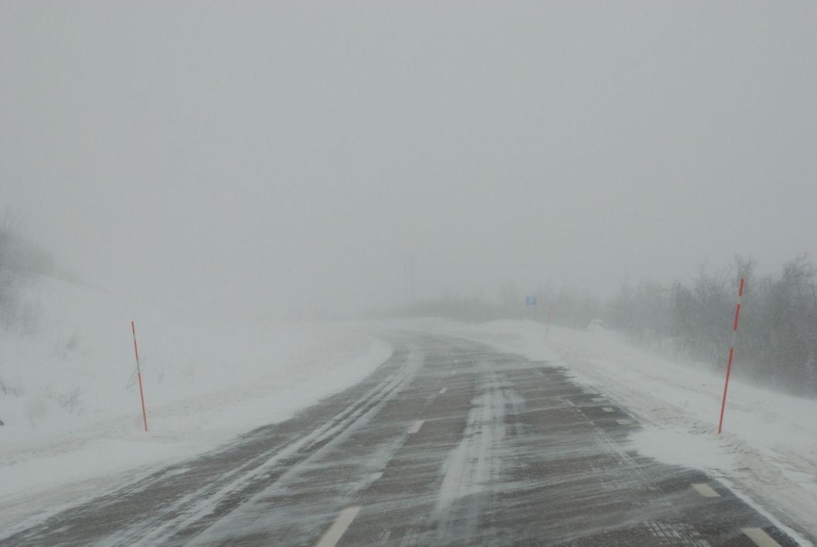 НаСтаврополье из-за плохой погоды ограничили движение наодной из больших трасс