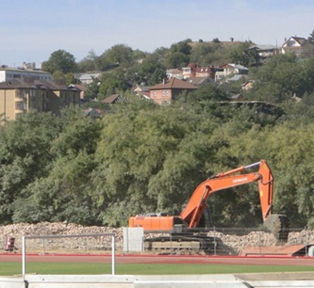 ВКисловодске был снесён старый стадион