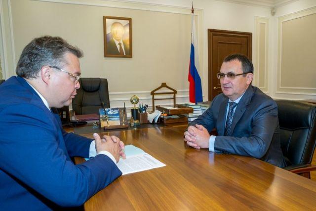 В Москве прошла рабочая встреча первого вице-спикера Совета Федерации и главы Ставрополья