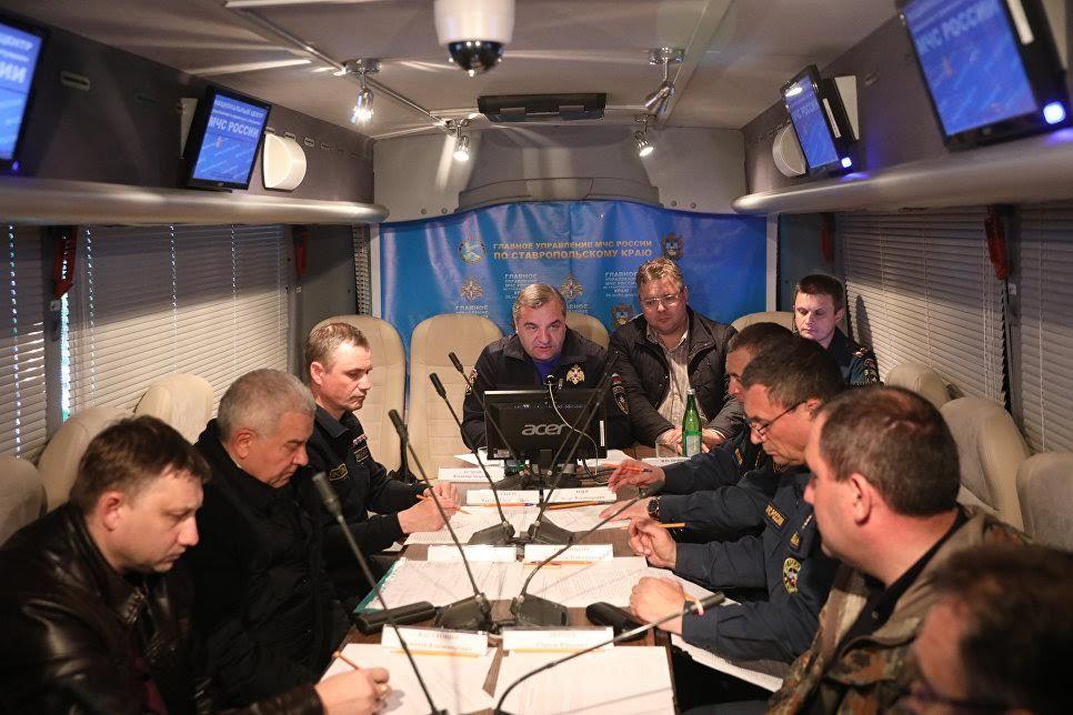Глава МЧС России Владимир Пучков прибыл в Ставропольский край