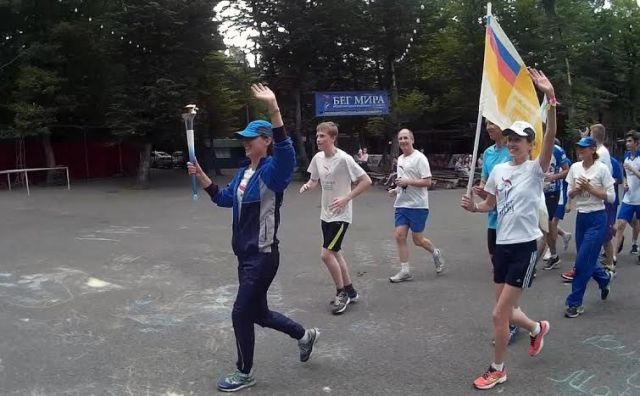 Ставрополь стал участником Международной факельной эстафеты «Бег мира»