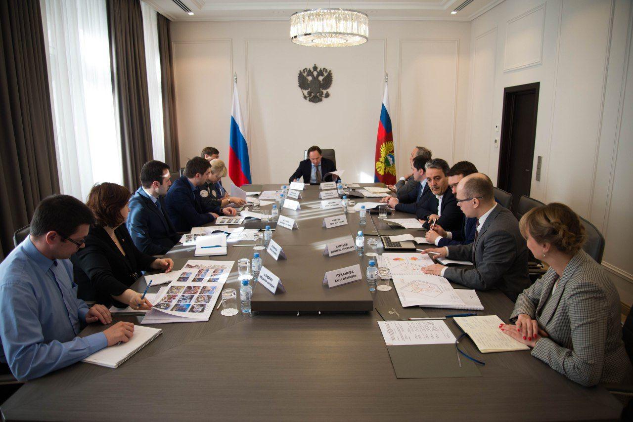 В Минкавказе обсудили архитектурные особенности зданий медицинского кластера в Кавминводах