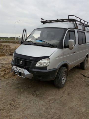 В Ставрополе угнали автомобиль «ГАЗ Соболь»