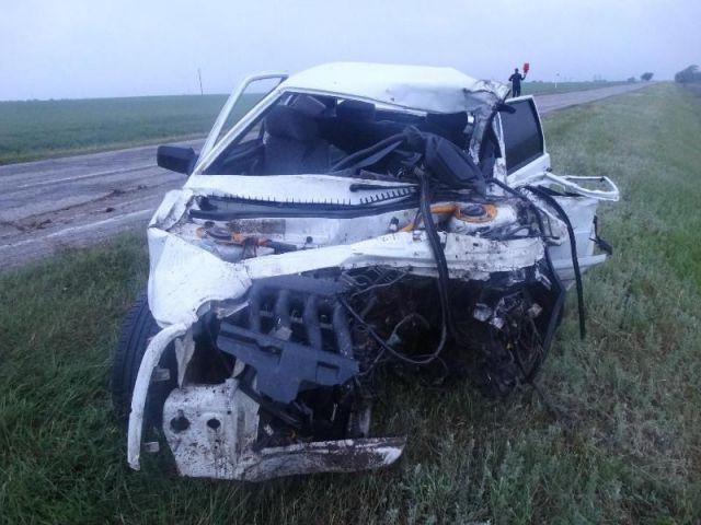 На Ставрополье в ДТП с патрульным автомобилем один человек погиб и четверо пострадали