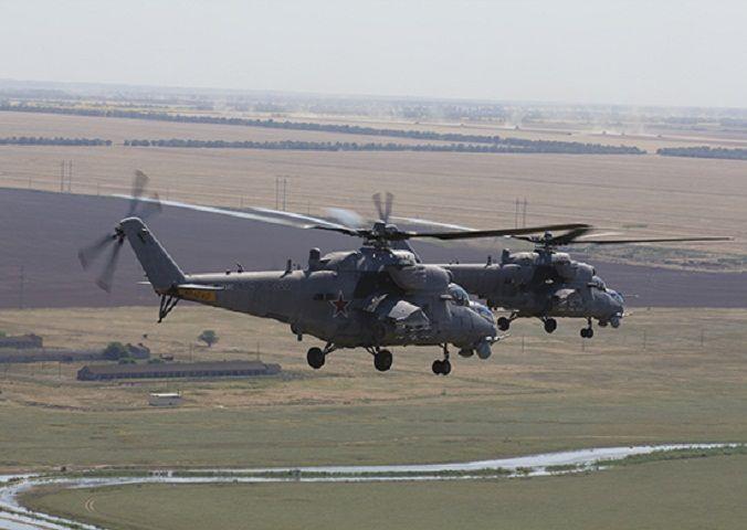 Летчики наСтаврополье отработали воздушный бой навысоте до200 метров
