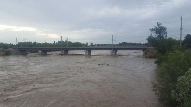 Уровень воды в Кубани достиг критических отметок