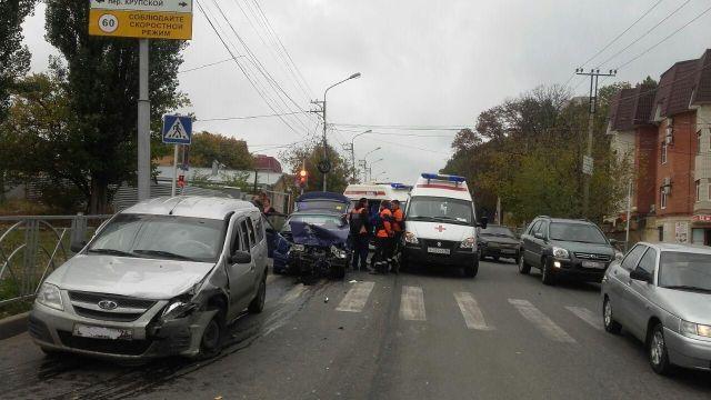 В Ставрополе в ДТП пострадал 4-летний ребёнок