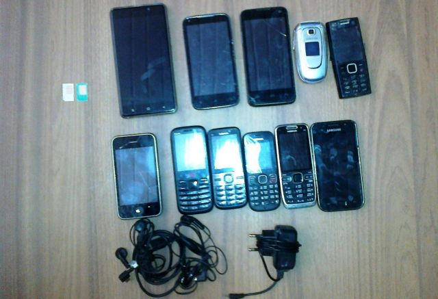 На Ставрополье мужчина пытался передать в колонию 11 мобильных телефонов