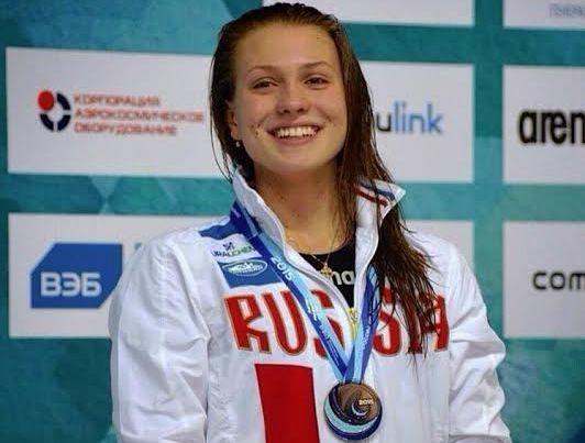 Ставропольчанка привезла бронзу чемпионата России по плаванию