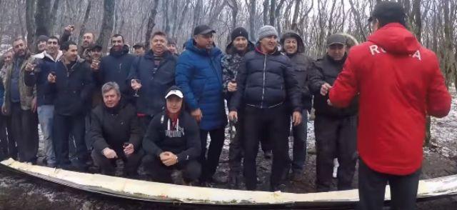 Ставропольчане приготовили шестиметровый люля-кебаб
