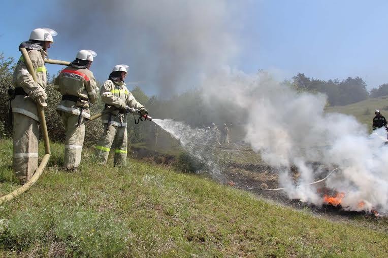 Губернатор Ставрополья Владимиров призвал подвергать наказанию виновных вландшафтных пожарах