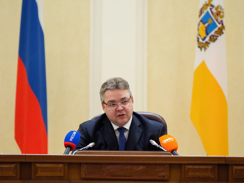 Губернатор Ставрополья провёл ежегодную пресс-конференцию