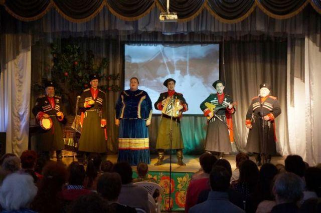 В Ставрополе прошёл праздник казачьей песни