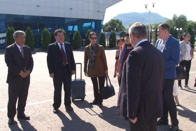 В Пятигорск ко Дню города прибыла официальная делегация из Пекина