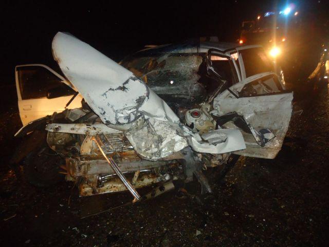 На Ставрополье при столкновении трёх автомобилей пострадали два человека