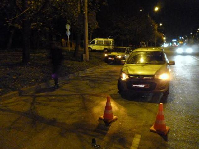 В Ставрополе столкнулись две легковушки, пострадал четырёхлетний ребёнок