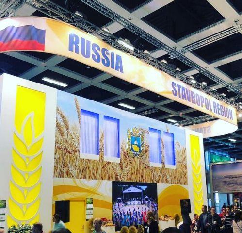 Министр сельского хозяйства России осмотрел ставропольский стенд на выставке в Берлине
