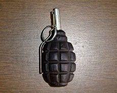 Задержаны с боевой гранатой