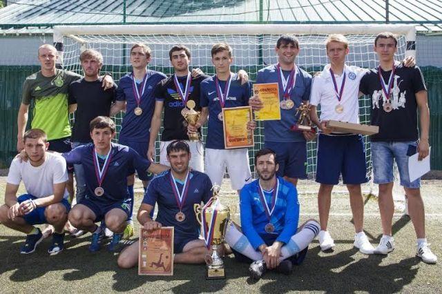 В Ставрополе состоялось торжественное закрытие чемпионата лиги дворового футбола