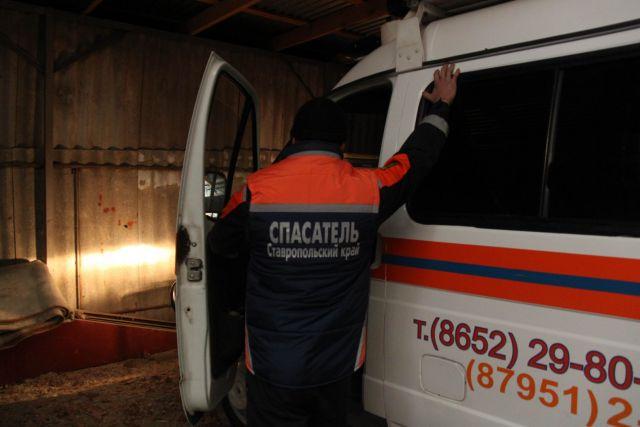 Спасатели помогли пенсионеру, заблудившемуся в Ставрополе