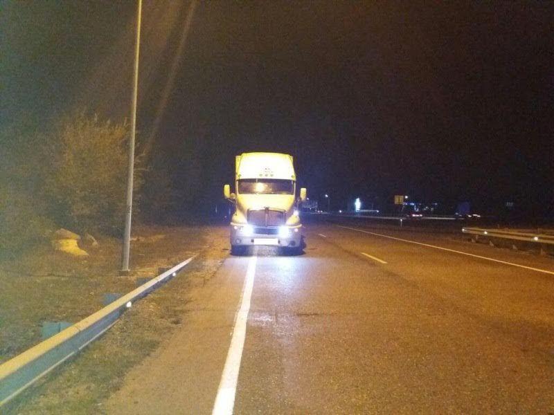 НаСтаврополье шофёр большегруза сбил насмерть пешехода