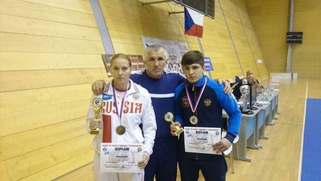 Ставропольские рукопашники привезли из Чехии медали