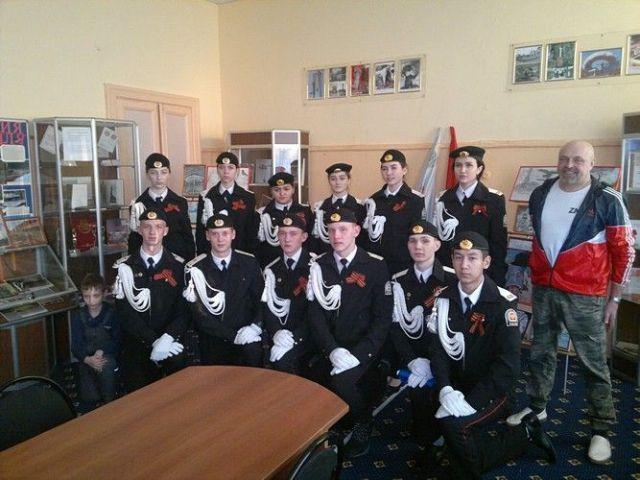 Фотографии кисловодских кадетов появились в Георгиевском зале Кремля