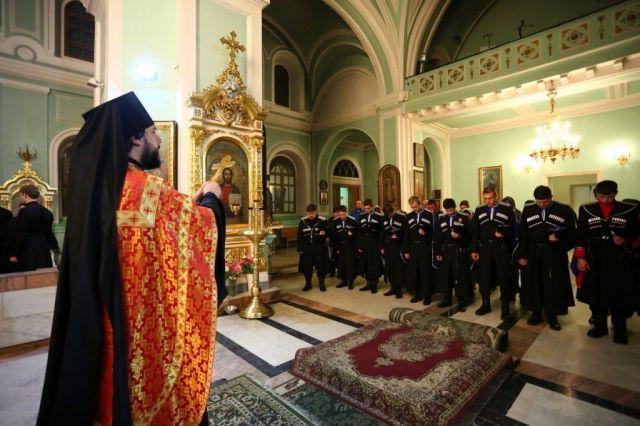 Ставропольские казаки отправились на Святую гору Афон
