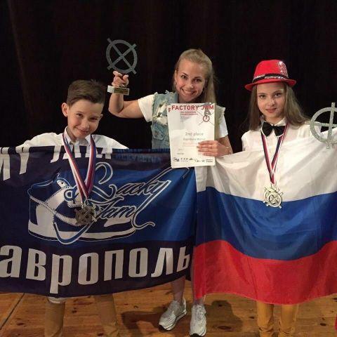 Юные ставропольцы привезли счемпионата Европы серебряную медаль