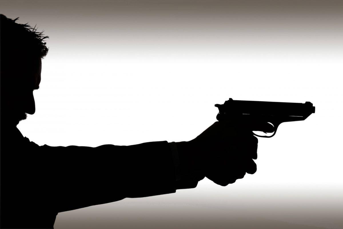 Картинка пистолет и голова
