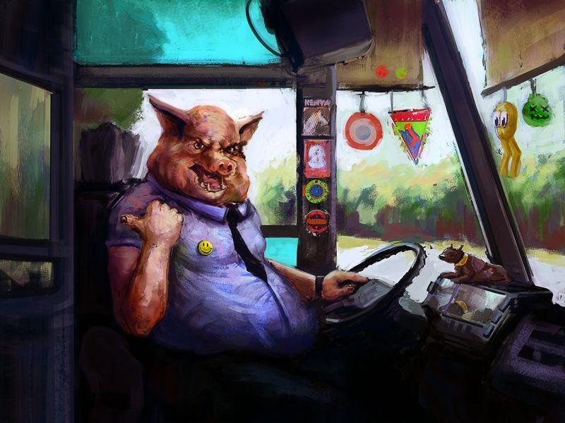 Прикольные картинки для водителей автобусов, мужчине который далеко